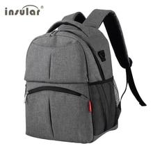 Сумка для подгузников, сумка для беременных, высокое качество, дышащий, для мамы, дорожный рюкзак, для ухода за ребенком, рюкзак для подгузников, сумка для коляски, серый/черный
