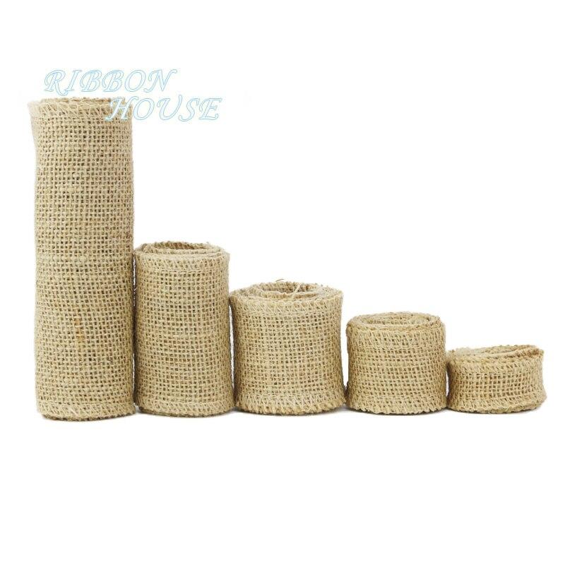 (2 м/лот) натуральная джутовая льняная лента Хлопковый Край DIY декоративная ткань для шитья свадебного украшения кружева