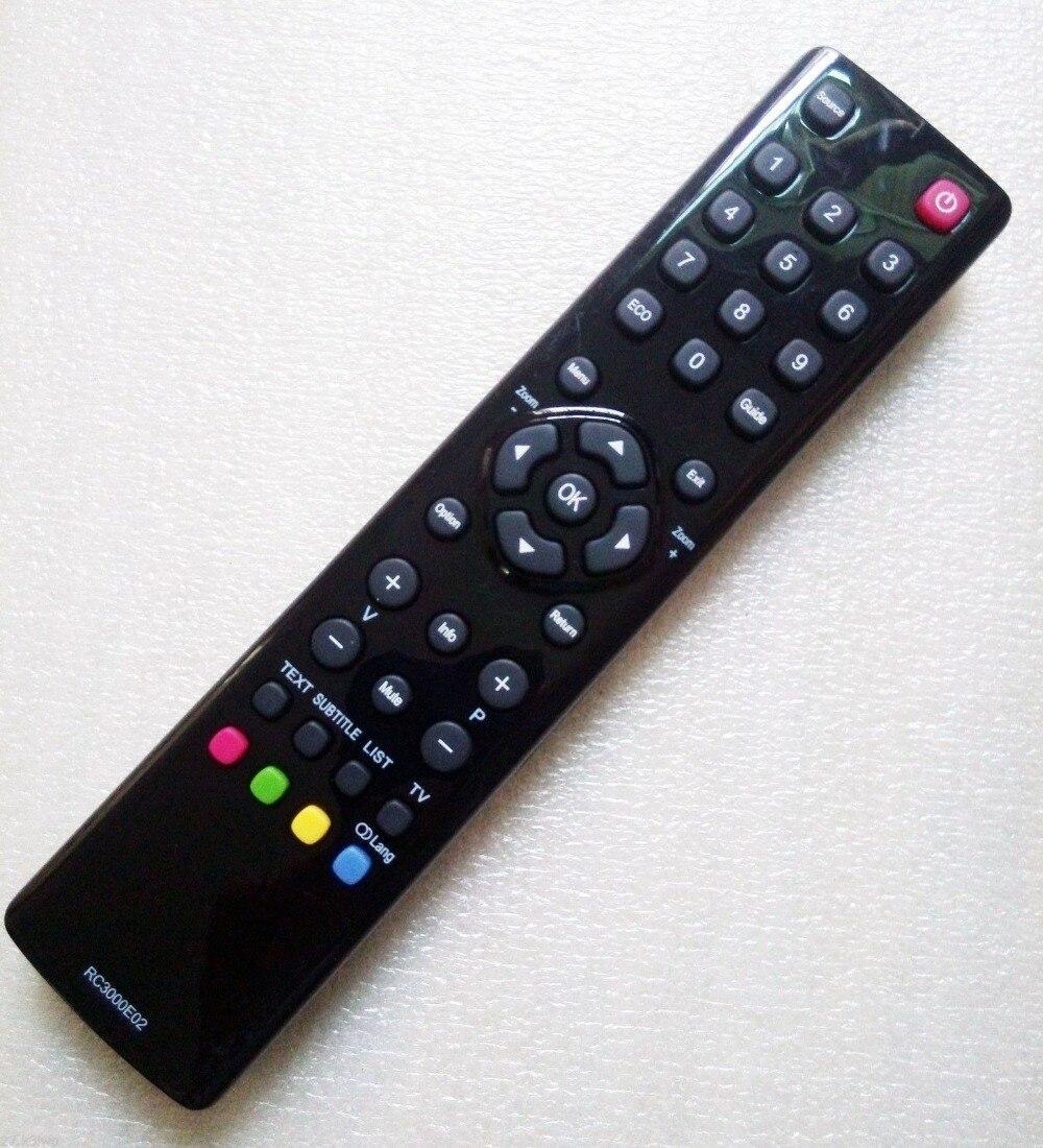 Nuevo para TCL Thomson, mando a distancia para TV LCD, RC3000E02, LE46FHDE5300