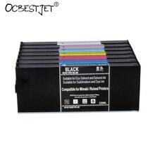 220 ML/STK LF-140 Navulbare Inkt Cartridge Voor Mimaki UJF-6042 UJF-3042 Printer (7 Kleuren Beschikbaar)