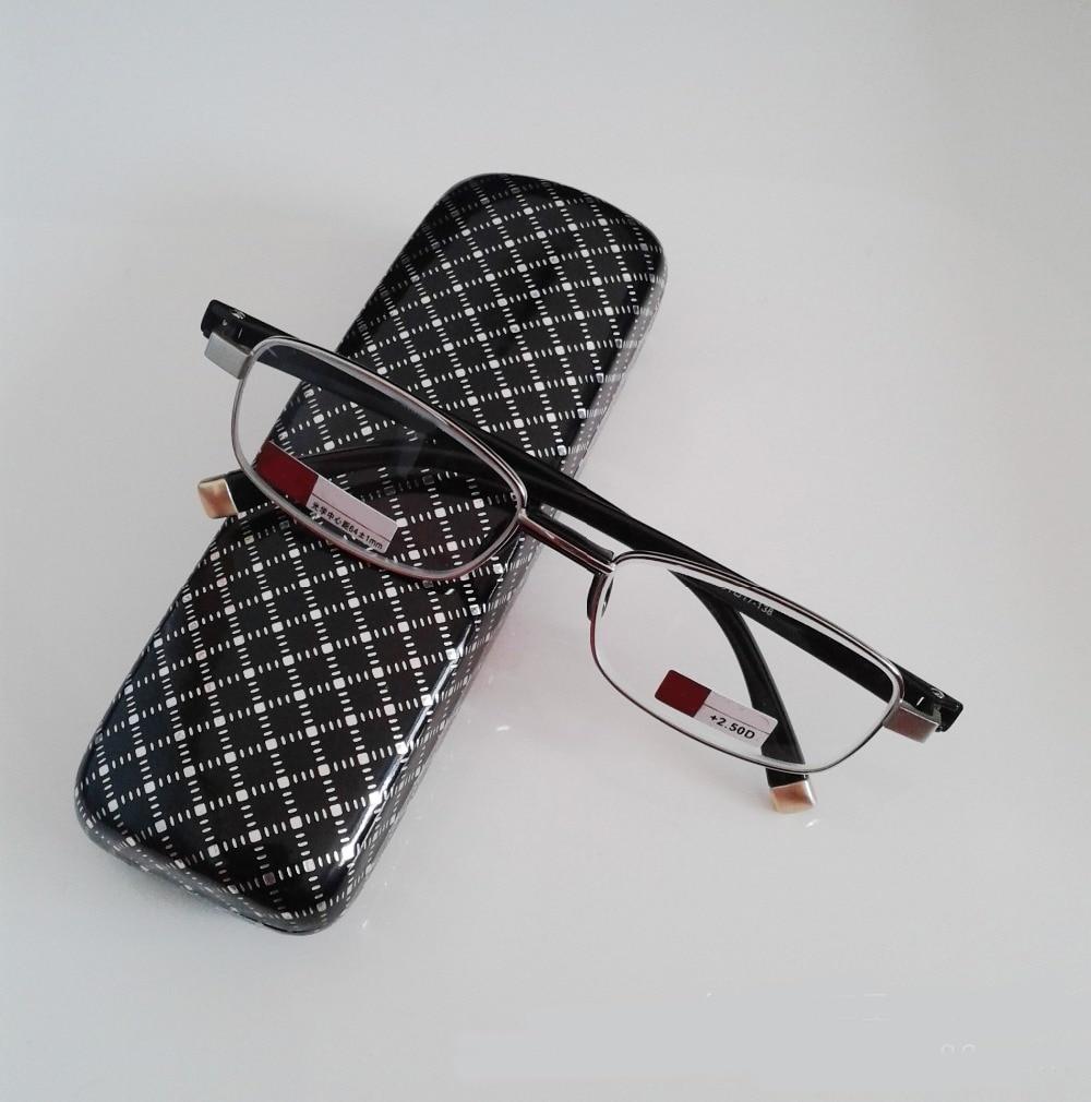 Leesbril Gafas De Lectura Full-rim High-grade Hd Glass Lenses Men Women Reading Glasses +1.00 +1.50 +2.00 +2.50+3.00+3.50+4.00