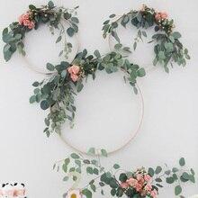 Décoration de mariage plantes artificielles tropicales feuilles guirlande hawaïen Flamingo fête danniversaire décoration de Table de mariage maison