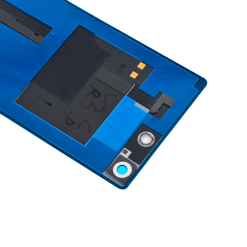 For Sony Xperia M5 E5603 E5633 Back Battery Cover Glass Rear Door Case With NFC Connector +Sticker For Sony M5 Battery Cover