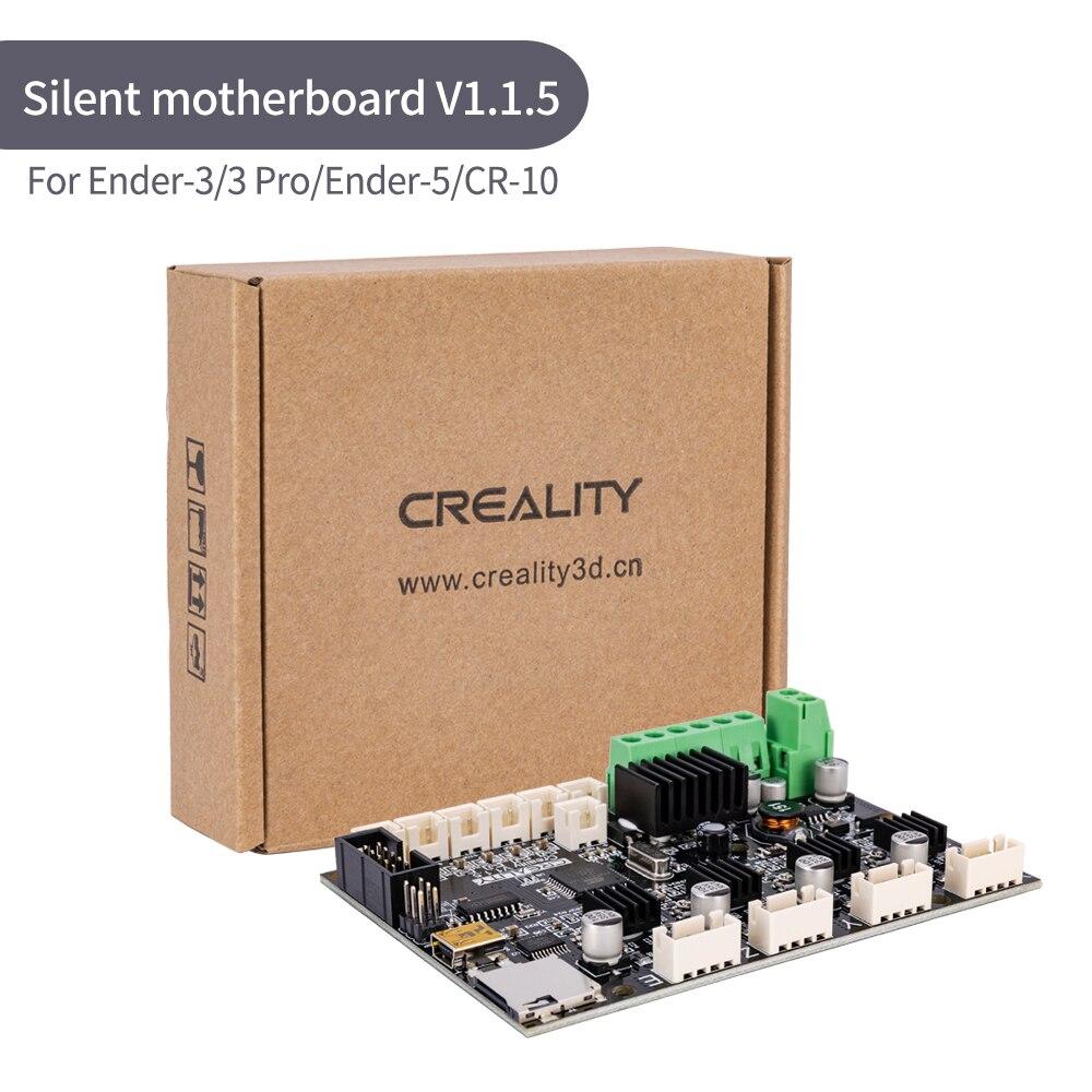 Fuente Original de fábrica Creality 3D nueva actualización placa base TMC2208 Silent 1.1.5 placa base para Ender-3/Ender-3Pro/ Ender-5