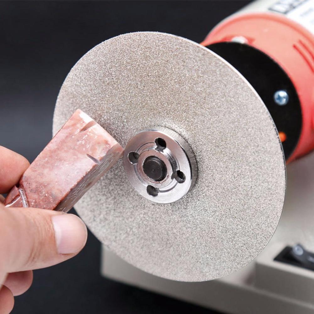 دیسک سنگزنی چرخ دار لاستیک چرخدار تخت 4 میلی متر 100 میلی متر 80-2000 # الماس