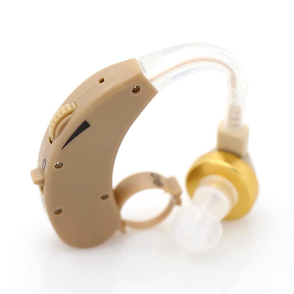 Audífono Mini dispositivo amplificador de sonido de voz ajustable de volumen mejora de la escucha clara para el cuidado de los audífonos para sordos mayores