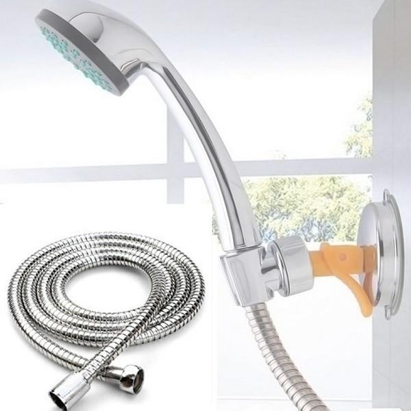 1 Pcs Flexible Shower Hose 1m/1.5m/2m Plumbing Hoses Stainless Steel Chrome Bathroom Accessories Wat