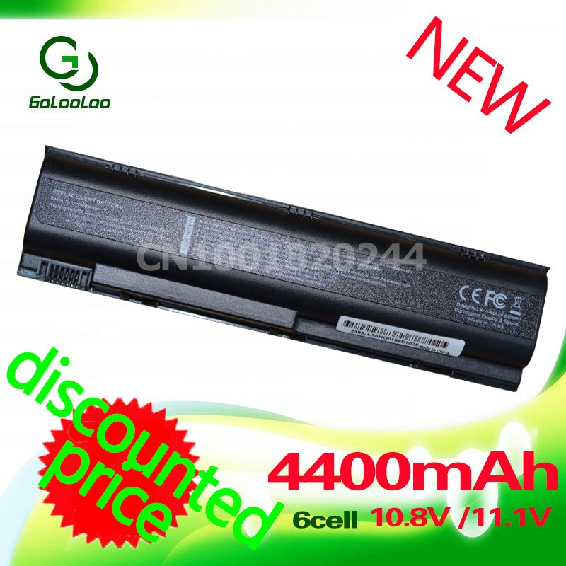 Golooloo 4400MaH batería para HP Pavilion G3000 G5000 dv5000 dv1000 dv4 para...