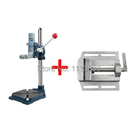 Heavy Duty Drill Stand + Vice enlarge
