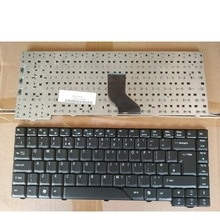 Nouveau clavier dordinateur portable anglais noir britannique pour Acer 6920G 6935G 4930G TM520 6920 6935 7300 Z03 MS2220 5710 5312 5315 5920 5720