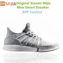 Original Xiaomi Mijia Smart Sneaker hommes Lithe respirant Air maille Mi smart APP baskets chaussures de sport hommes chaussures de course en plein Air