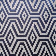 Tissu contemporain géométrique 2018 mélange Poly rayonne   Tissu de tapisserie pour coussin et chaise, tissu Jacquard tissé, 140 cm pour vendre par mètre