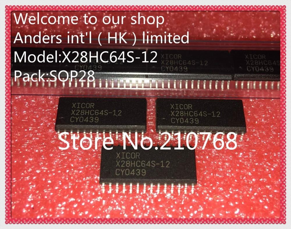 10 pçs/lote X28HC64S-12 X28HC64S X28HC64 SOP28