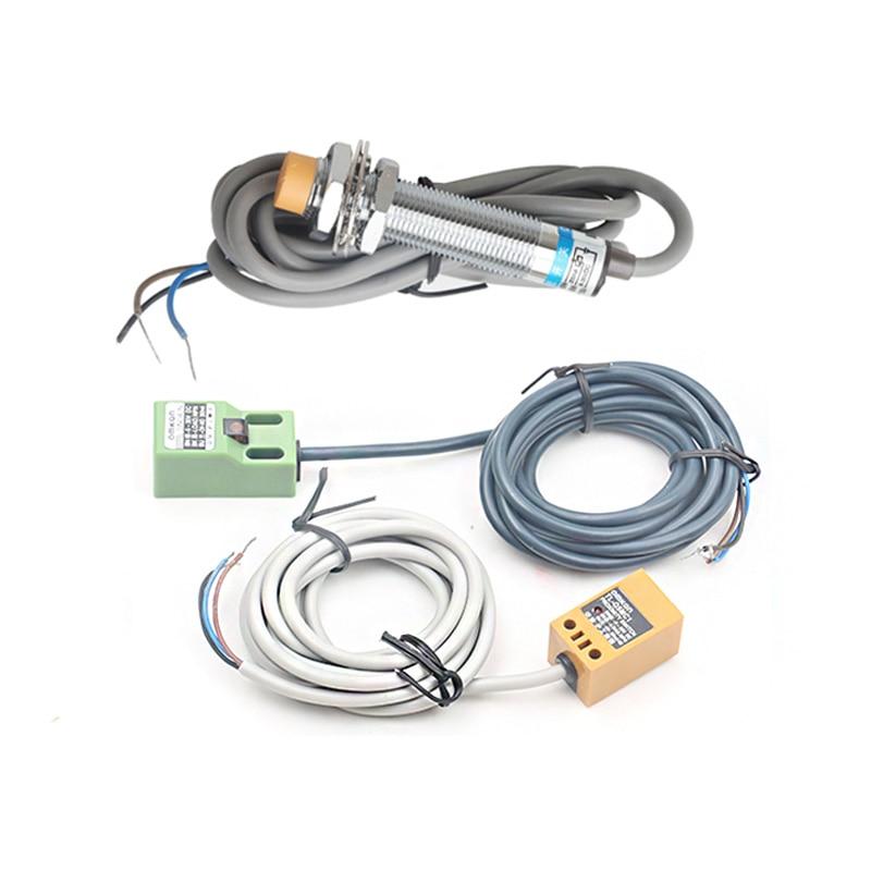 3 uds interruptor de límite cnc router co2 láser de parada de emergencia, SN04-N TL-Q5MC1 LJ12A3 Sensor de acercamiento NPN 3 de proximidad inductivo
