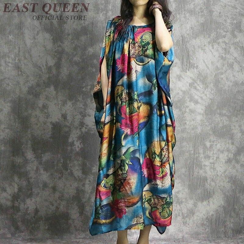 فستان بوهيمي أنيق للنساء ، هيبي مكسيكي ، نمط عرقي ، ملابس عطلة بوهيمية ، ملابس شعبية مثيرة للنساء ، AA4083