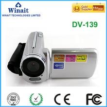 "2017 nieuwe stijl goedkope camcorder 1.8 ""lcd-scherm 4x digitale zoom foto camera LED light flash digitale video camera met 32GB geheugen"