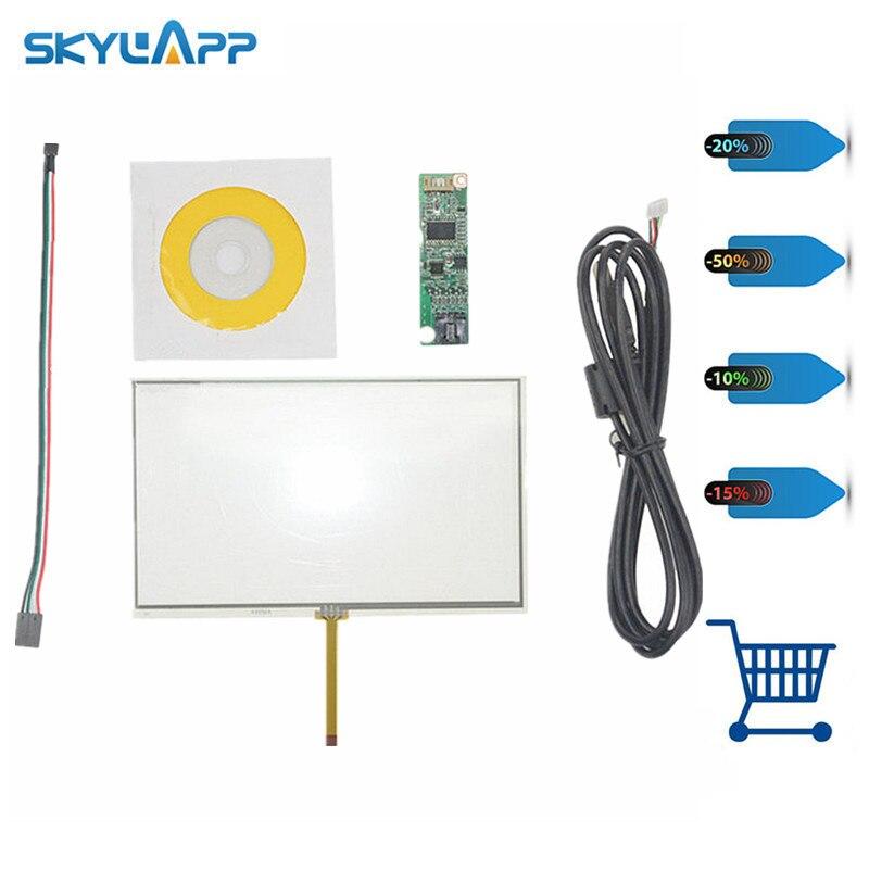 Skylarpu nueva pantalla táctil Universal de 7 pulgadas GPS para AA232A 164mm * 99mm con panel de control de vidrio táctil envío gratis