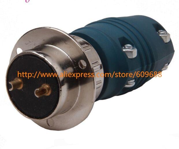 Wire Feeder Accessories,Electric Welder Plug 2pins Insulation Bakelite Material,Aviation Plugs Socket Connector