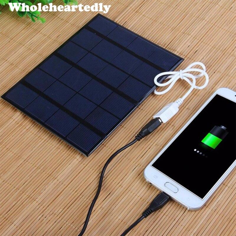 Высокоэффективный мини-модуль солнечной панели 6 в 3,5 Вт, солнечное зарядное устройство для телефона, Mp3, Mp4 Pad, планшета, USB мультимедиа