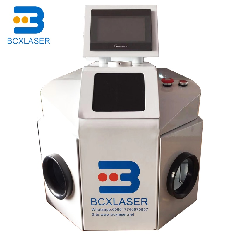 New Type 200W 100J table top design laser welding machine for jewelry gold and silver welding and repair