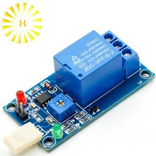 DC 5V 1-Channal 1CH Humidity Sensor Switch Relay Module Control Board Connector