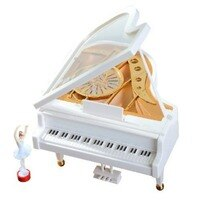 For Elise Music Box Mechanical Classical Ballerina Dancing Girl Dancing on the Piano Music Box for Valentine's Day Birthday Gift