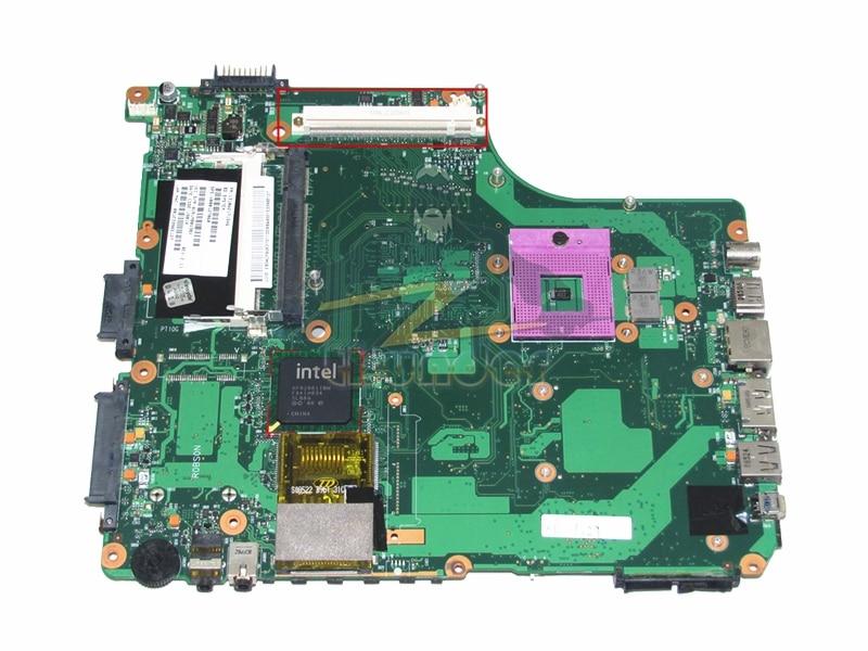 1310A2171546 V000127060 para toshiba satellite a300 laptop motherboard gm45 ddr2 com slot gráfico