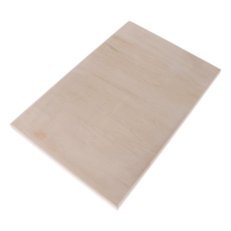 Tabla de dibujo de madera de tamaño A3, tabla de pintura artística, paleta de bloc de dibujo 8 K