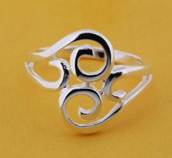 925 Jewelry Silver Plated Wholesale Free Shipping Rings for woman&man Fashion Jewelry/avwajnda LQ-R205