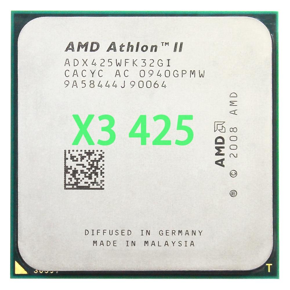 AMD Athlon II X3 425 CPU procesador Triple-Core (2,7 Ghz/L2 = 2...