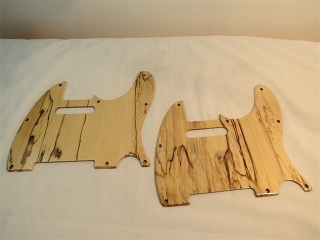 1pcs of Maple wood Tele Style Guitar Pickguard 3 Ply for Telecaste enlarge