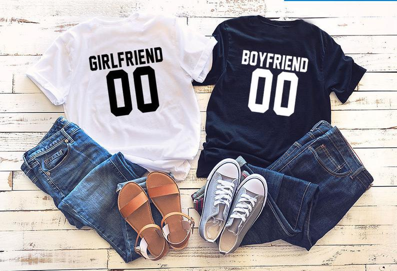 sorry ladies this guy is taken boyfriend t shirt relationship gifts for him anniversary t shirt gift from girlfriend Skuggnas Girlfriend Boyfriend 00 T-shirt Couples shirts Couples tee Short Sleeve Matching t shirts gift for Her/Him tees