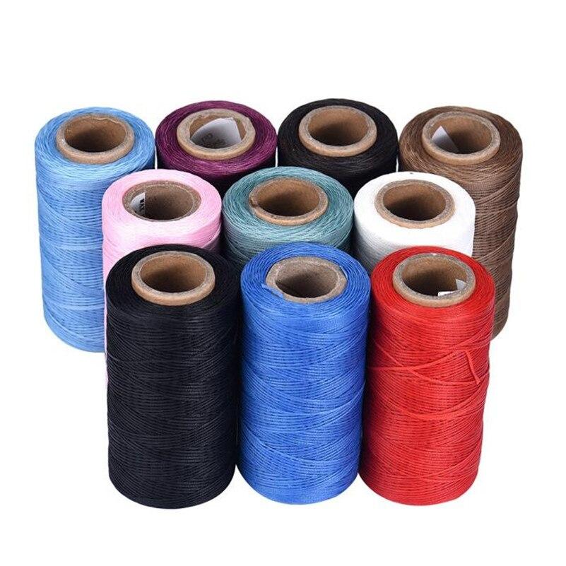Hilo de coser de cuero encerado 260m tapicería zapatos equipaje hilos para coser encerado cosas de costura naaigaren nici ¿szycia 2