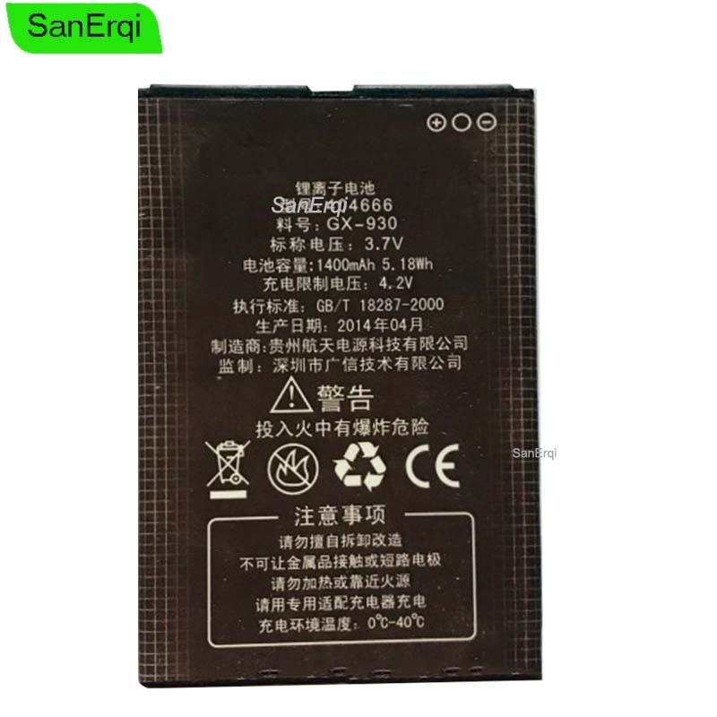 3.7V 1400mAh GX-930 Pour KINGSUN EF92 EF92A EF930 Batterie