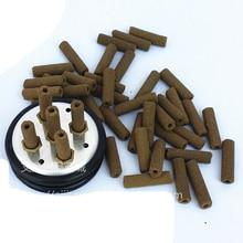 5 trous 1 pc moxa boîte + 100 pièces mini moxa rouleaux petit masseur de corps de fumée livraison gratuite