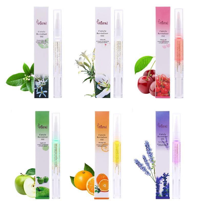 Lápiz de aceite nutritivo para uñas de 5ml, lápiz para tratamiento de uñas con 15 olores, aceite revitalizador de cutícula, previene el esmalte de uñas Agnail, nutre la piel TSLM1