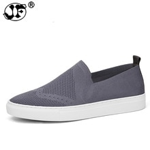 New Fashion Loafers Men Flat Heel Mesh Shoes Mens Casual Shoes Male Low top Brand Footwear 412ji