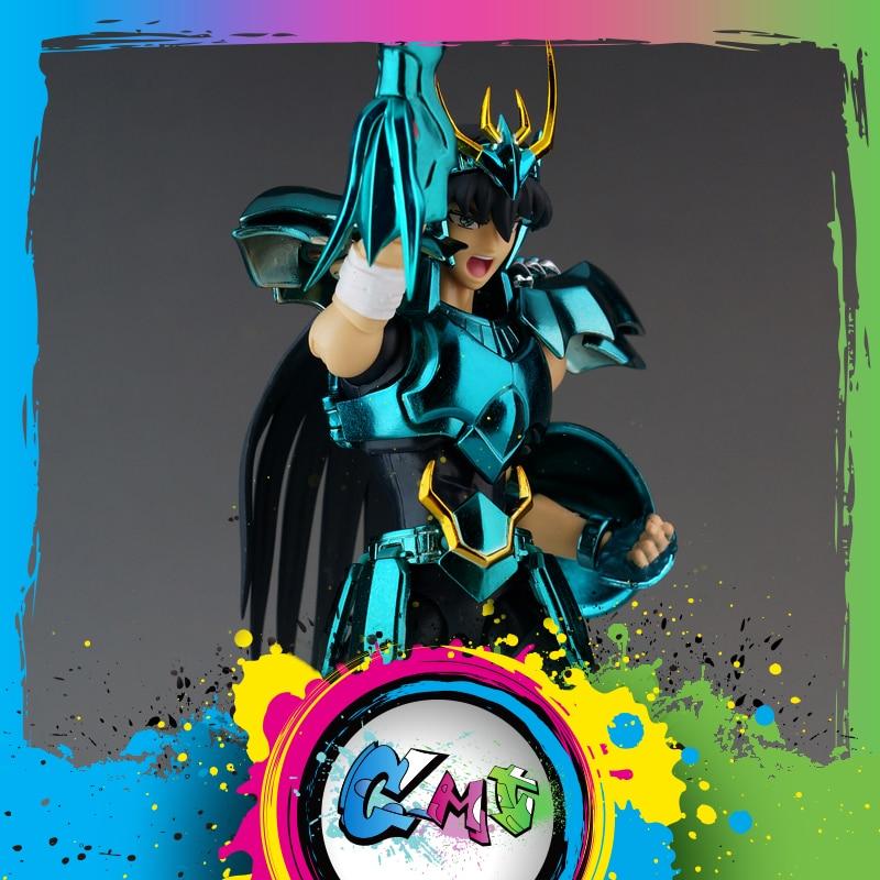 CMT In stock Dragon Shiryu V3 final Cloth EX metal armor GREAT TOYS GT EX Bronze Saint Seiya Action Figure