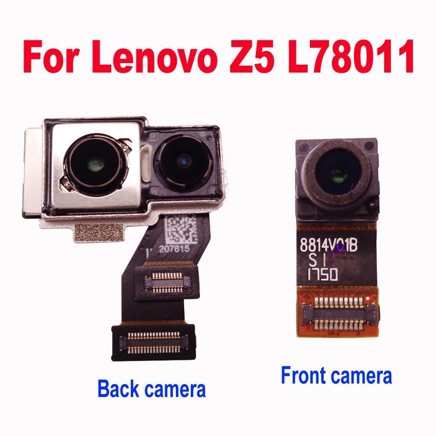 LTPro-كاميرا خلفية كبيرة أصلية ، لهاتف Lenovo Z5 L78011 ، قطع غيار ، كاميرا أمامية