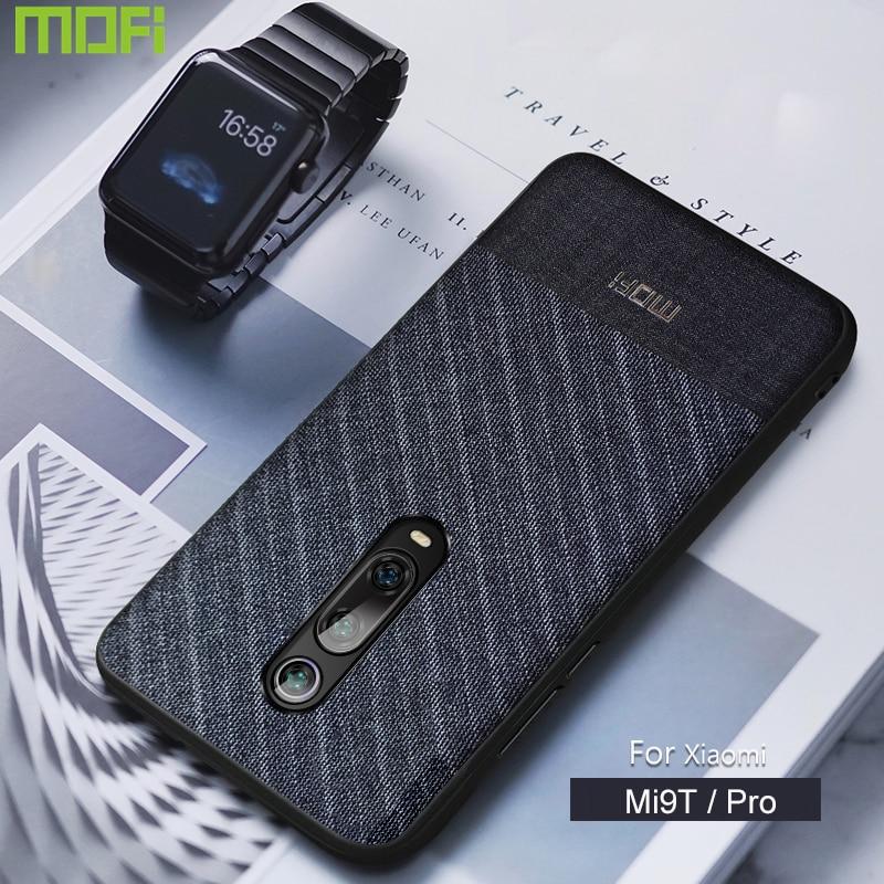 For Xiaomi Mi 9T Case Cover Mofi For Xiaomi Mi9T Pro Case Back Cover Suit Cloth Business Style Case Cover Mi 9 T Pro