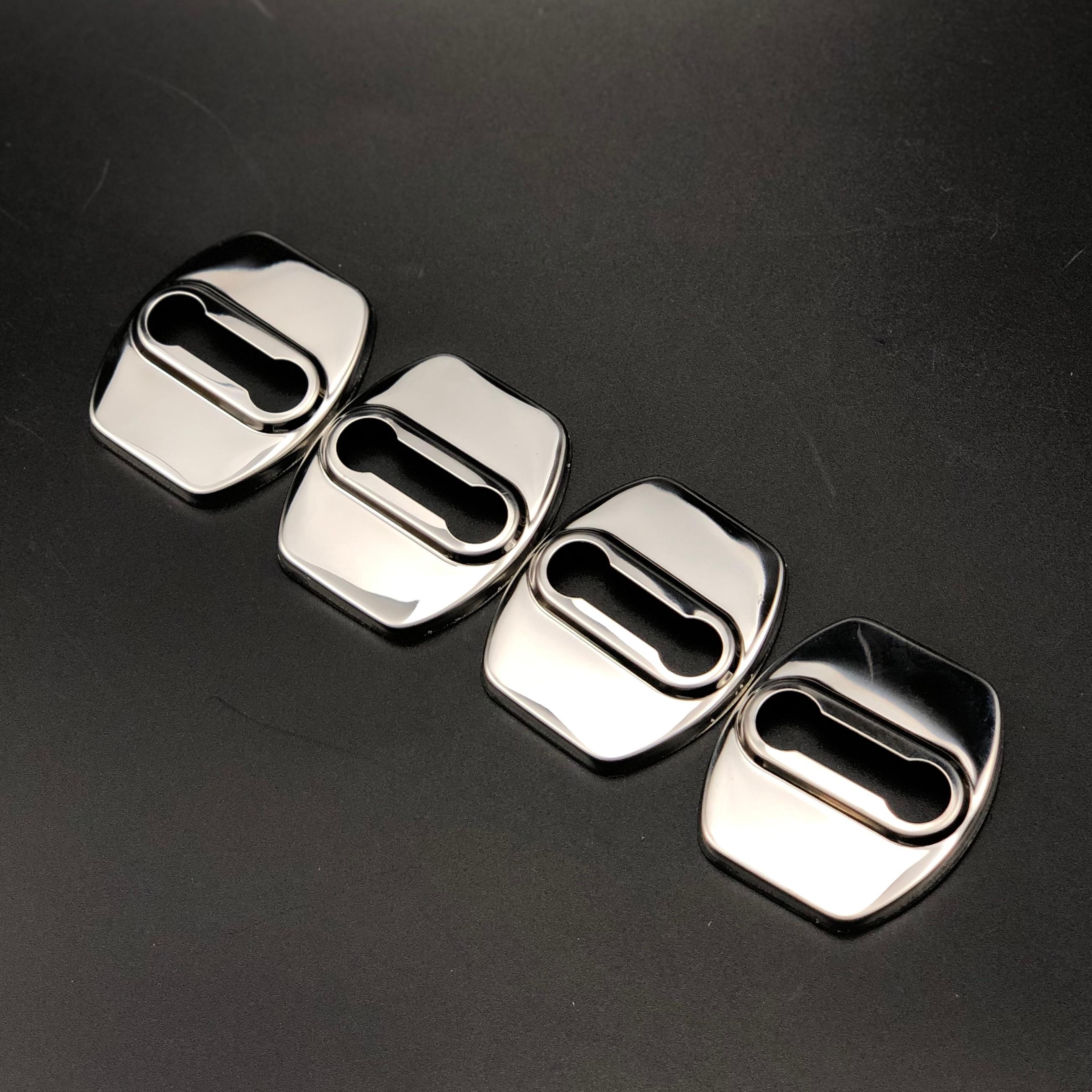 Auto styling Zubehör Türschloss Abdeckung Für Hyundai ENCINO KONA SantaFe Veracruz Mistra Tucson Veloster Rohens AZERA Avante