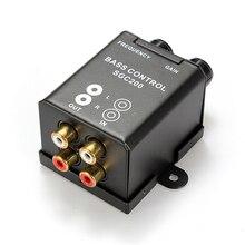 Автомобильный домашний универсальный пульт дистанционного управления, усилитель басов, регулятор усиления RCA, регулятор громкости