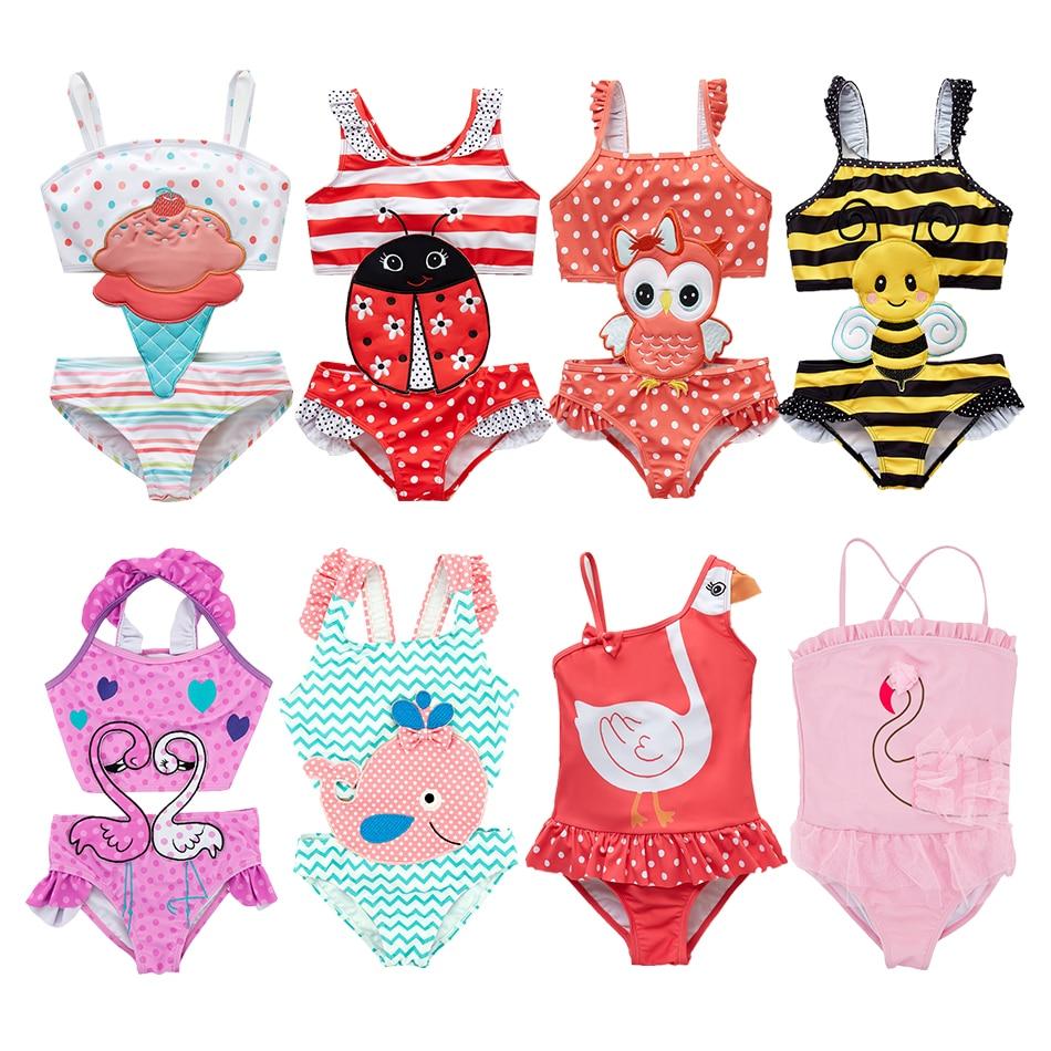 AliExpress - Toddler Infant Baby Girls Swimwear Watermelon Swimsuit Swimming Beach Bathing Bikini Cute Summer One-Piece Swimming Baby Overall