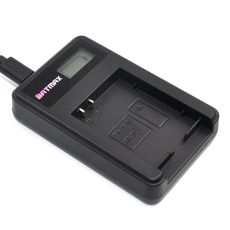 Display LCD USB Bateria Carregador para Canon NB 5L NB5L S110 SX200 SX210 SX220 SX230 É HS IXUS 850 870 800 860 990 SD
