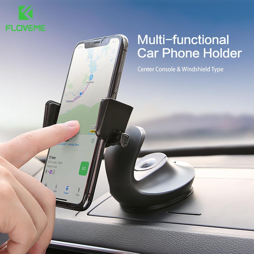Floveme-soporte de coche con bloqueo automático, soporte de escritorio para teléfono móvil con forma de cisne para iPhone X 8 Huawei, soporte de teléfono móvil
