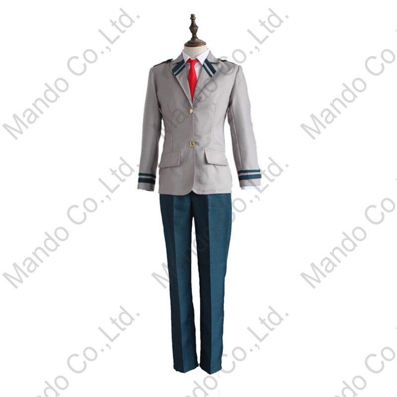 Anime Boku No Hero Academia Midoriya Izuku Cosplay disfraz chicos uniforme traje para hombre Halloween Cosplay fiesta 3 piezas traje