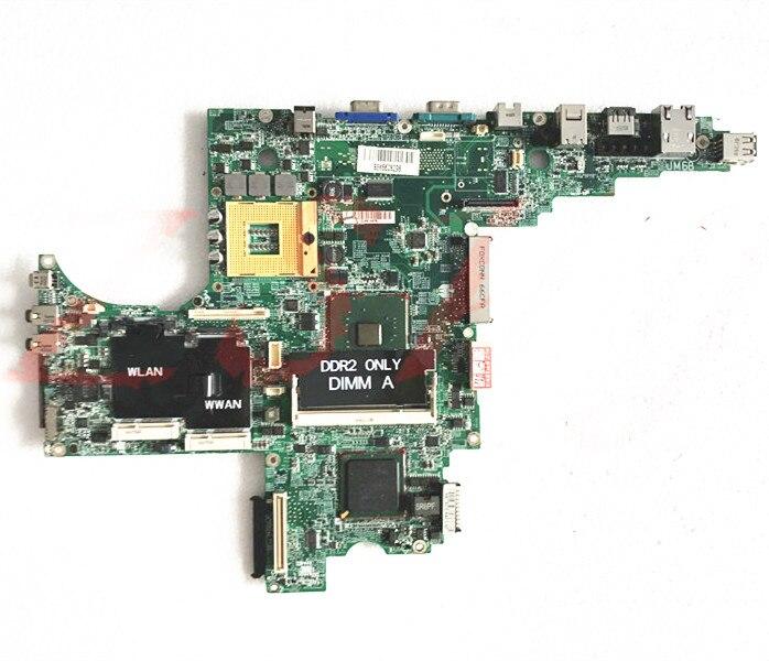 Para dell d820 0ff096 945gm laptop motherboard ddr2 cn-0ff096 dajm6bmb8f7 Frete Grátis 100% teste ok