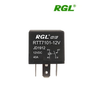 RGL 12V/24V RTT7101 (JD1914) 40A small electromagnetic relay relay 4 feet universal Automotive electrical DIY tools Accessories