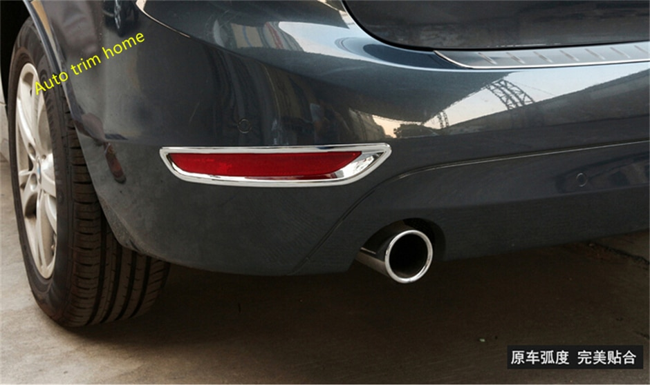 Lapetus For BMW 2 Series Gran Active Tourer F45 F46 2015 - 2019 (7 Seat Model ) ABS Chrome Rear Fog Lights Lamp Frame Trim