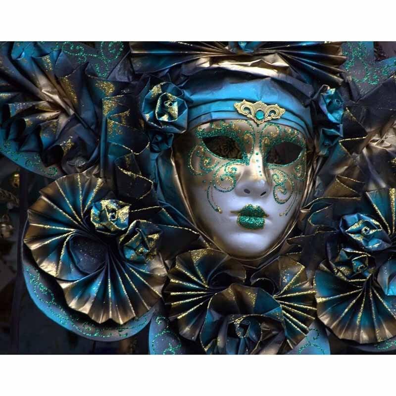 Fantasy art 5D plac Diy diament haft maska pełna wzór diament zestaw do malowania diament obraz sztuki